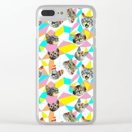 Army Of Cats Clear iPhone Case