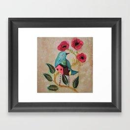 Les pavots Framed Art Print