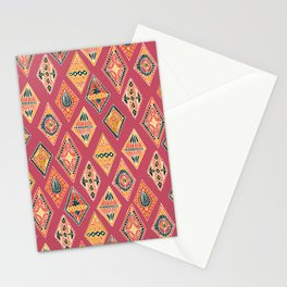 Desert Diamonds Pattern Stationery Cards