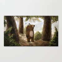 good morning Canvas Prints featuring Good Morning by Greg Abbott