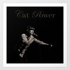 Cat Power Art Print