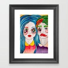 You're A Monster Too Framed Art Print