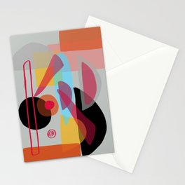 Modern minimal forms 22 Stationery Cards