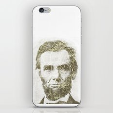 Abraham Lincoln iPhone & iPod Skin