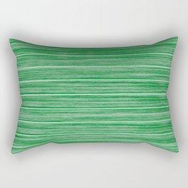Bright Pastel Green Wood Beach House Cladding Rectangular Pillow