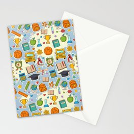 School Cool Stationery Cards