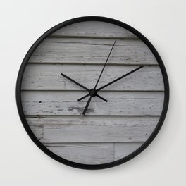 Peeled Paint Wall Clock