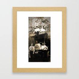 Byrne Coal Antique Truck Framed Art Print