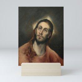 El Greco - Christ in Prayer Mini Art Print