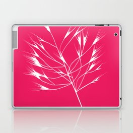 Beautiful pink weeds Laptop & iPad Skin