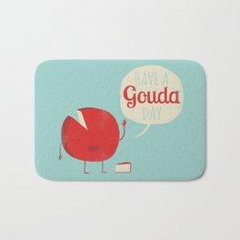 Have a Gouda Day Bath Mat