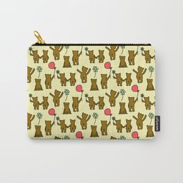 Happy Teddies  Carry-All Pouch