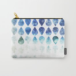 leaf and sky reflection Carry-All Pouch