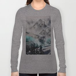 it's all still there if you can reach it. Long Sleeve T-shirt