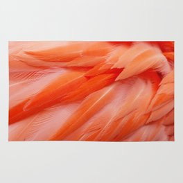 Flamingo Feathers Rug