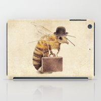 bee iPad Cases featuring Worker Bee by Eric Fan