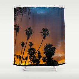 Blazing Sunrise in Laguna Beach Shower Curtain