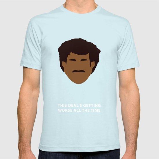 Star Wars Minimalism - Lando Calrissian T-shirt