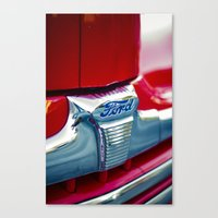 ford Canvas Prints featuring Ford by Grafiko