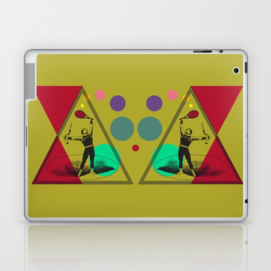 my uncle : what a complete man... Laptop & iPad Skin