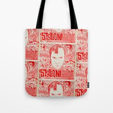 Station! Fantastic Cinematic Album Cover Tote Bag