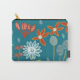 Happy Flowers Collection Carry-All Pouch