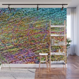 Electric Fence Wall Mural