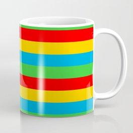 Eritrea flag stripes Coffee Mug