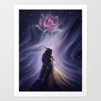 Beauty and the Beas Art Print