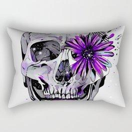 Fancy Skull Rectangular Pillow
