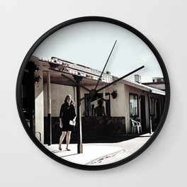 Within The Darkest Parts Of The Day Wall Clock