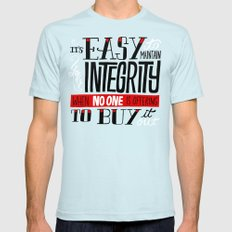 Integrity Light Blue SMALL Mens Fitted Tee