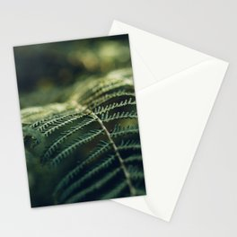 Green and Golden Stationery Cards