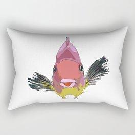 Parrot Fish Rectangular Pillow