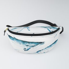 Whale friends Fanny Pack