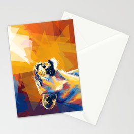 In the Sunlight - Lion portrait, animal digital art Stationery Cards