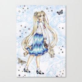 Usagi Tsukino Canvas Print