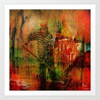 venice Art Prints featuring Venice by Joe Ganech