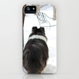 Snowy McGee iPhone Case