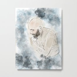 The Shameless Man Metal Print