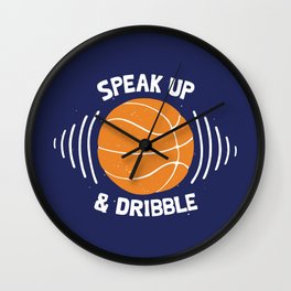 DR/BBLE Wall Clock