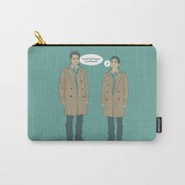 Cas & Kevin - Supernatural Carry-All Pouch