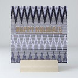 Happy Holidays Mini Art Print