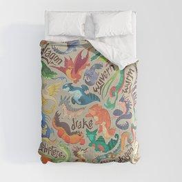 Mini Dragon Compendium Comforters
