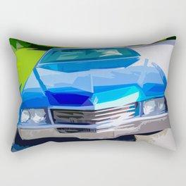 1970 Cadillac Eldorado Rectangular Pillow