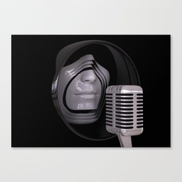 Future Jazz Vox Canvas Print
