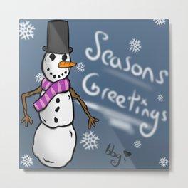 Seasons Greetings To All! Metal Print