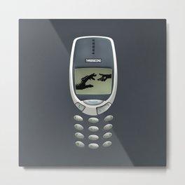 Retro classic Handphone iPhone 4 5 6 7, pillow case, mugs and tshirt Metal Print