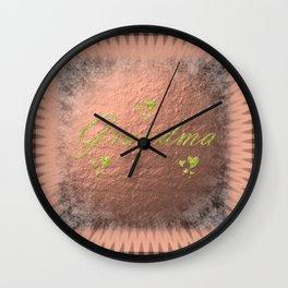 grandma Wall Clock