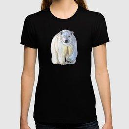 Polar bear in the icy dawn T-Shirt